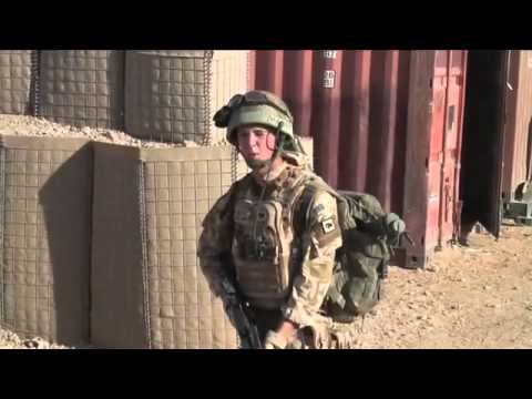 British troops behind the front lines in Afghanistan Our War.