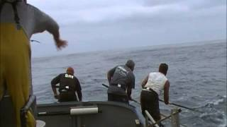 Jason Morris and Matt Flescher Tuna Fishing