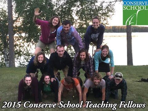 Welcome Conserve School Teaching Fellows