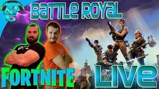 Fortnite Battle Royal - Live Stream