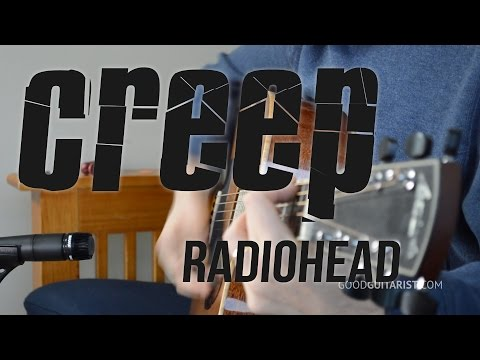 Creep - Radiohead | Simplified Intermediate Strumming Guitar Lesson - Learn Barre Chords