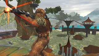 Star Wars Battlefront 2 mods: Battles of the Storm - Kashyyyk