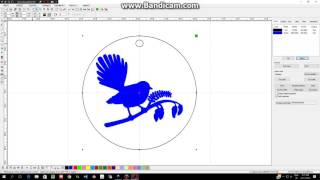 Transferring your dxf file into the laser cutter software