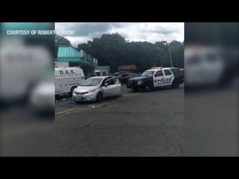 Driver fights cop at traffic stop