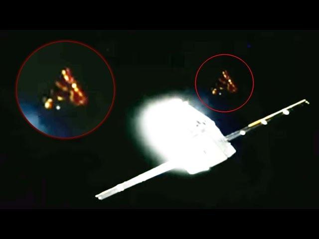 Aparece un misterioso OVNI cerca del SpaceX Dragon antes de que corten la transmisión en directo