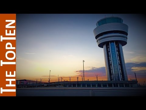 The Top Ten Most Beautiful Airport Control Towers