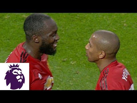 Corner kick routine leads to Man United goal against Fulham | Premier League | NBC Sports