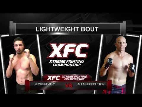 XFC27 Allan Poppleton VS Lewis Shally
