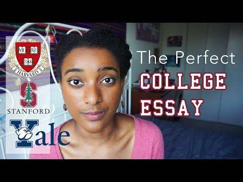 The Secret to a Stellar College Application Essay - Harvard Grad Tips | Ahsante the Artist