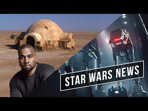 Kanye West builds Star Wars Style Homes // Rise of the Resistance Opening Date - Star Wars News Mp3