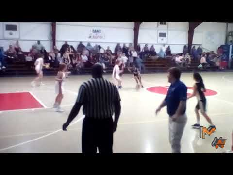 Mikeala Washington - Beaufort Academy 21 pts vs Holly Hill Academy
