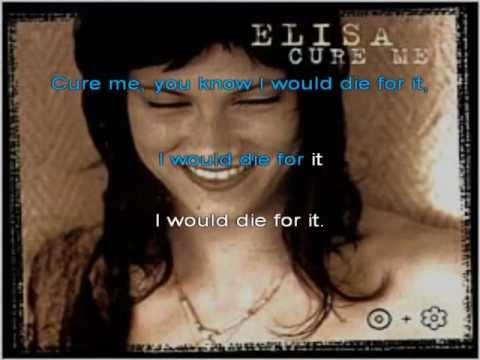 Elisa cure me Karaoke