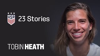 ONE NATION. ONE TEAM. 23 Stories: Tobin Heath
