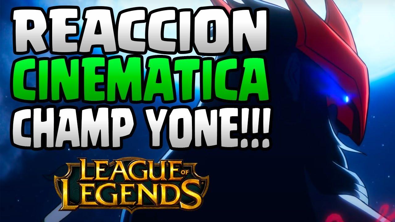 REACCION NUEVO CAMPEON YONE | IMPRESIONANTE!