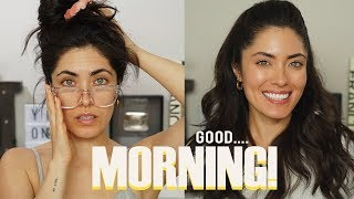 How to look AWAKE in the morning | Melissa Alatorre