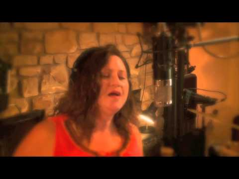 "Ginger Curry vocal session for ""Go Back To Your Used to Be"""