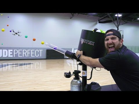 Thumbnail: Drone Hunting Battle | Dude Perfect