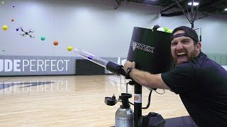 Drone Hunting Battle | Dude Perfect thumbnail