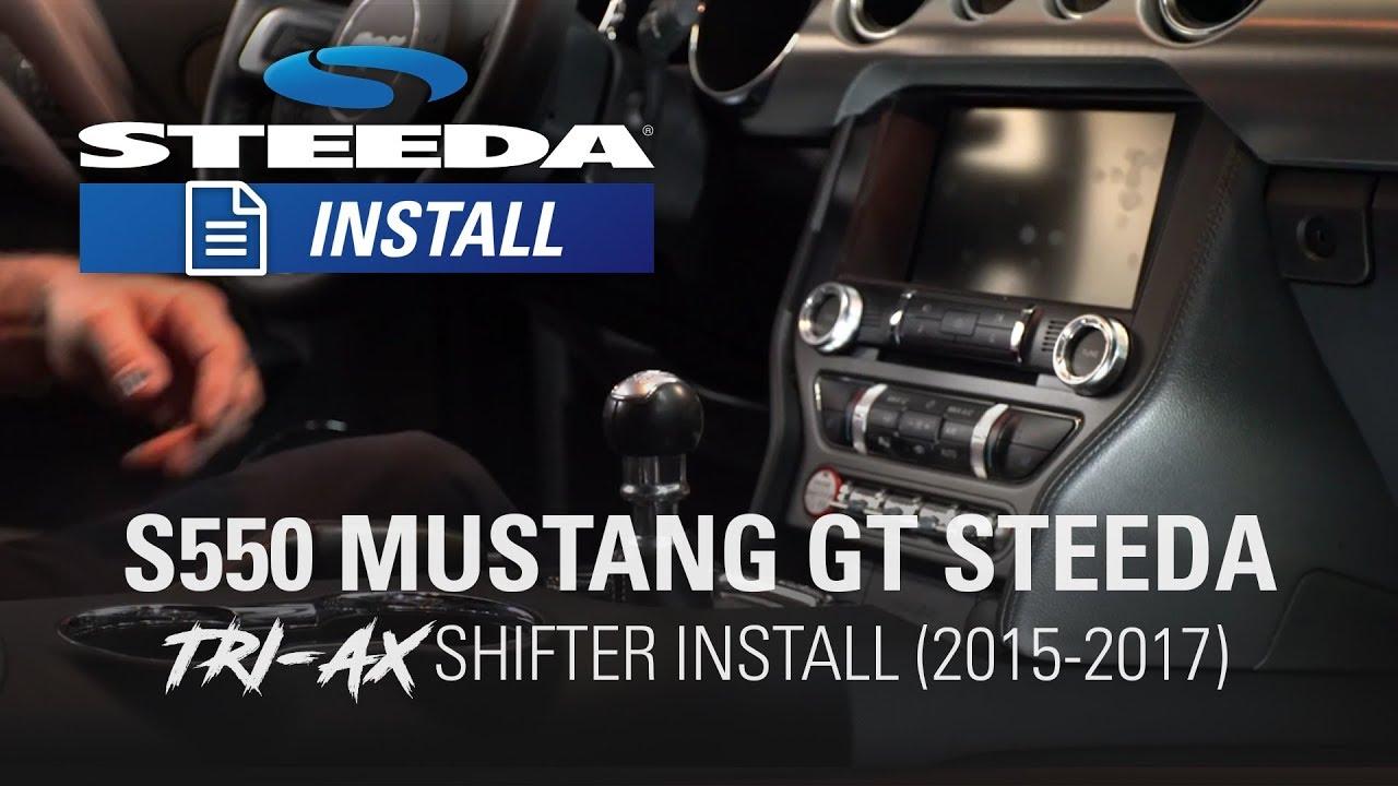 Steeda 555-7316 Steeda S550 Mustang Tri-Ax Short Throw Shifter 2015 All