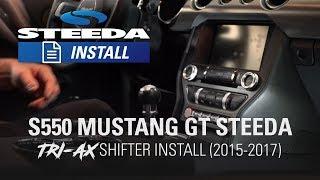 Steeda S550 Mustang Tri-Ax Street Short Throw Shifter | Install