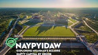 Exclusive footage: just a few years ago it was illegal to film government ministries in myanmar's bizarre secretive capital, naypyidaw. recently, those rules...