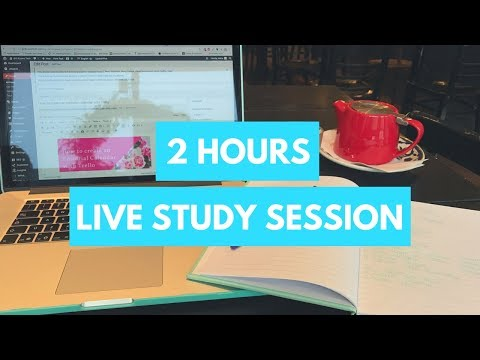 Study With Me (4+ hours minimum) - Real Time Study Session #37