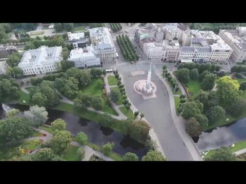 Rīga no putna lidojuma (Riga from birds eye view) SkyArt.me