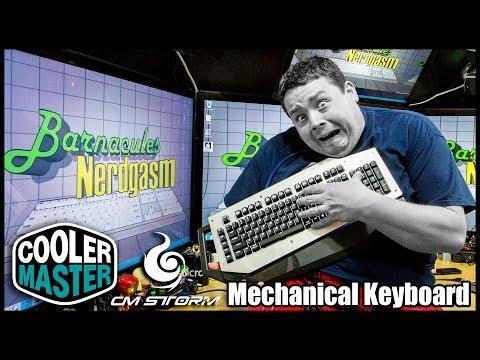 Cooler Master CM Storm MECH Aluminum Gaming Keyboard Review