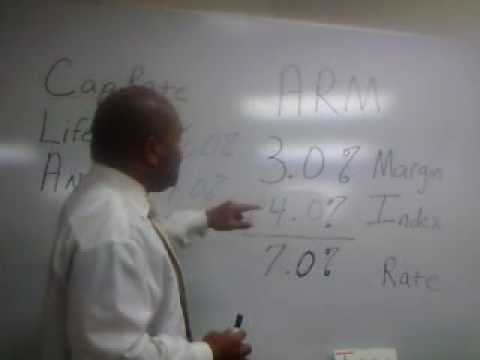 "Adjustable Rate Mortgages ""ARM"" By Tyron Coleman Mortgage Instructor Colorado"