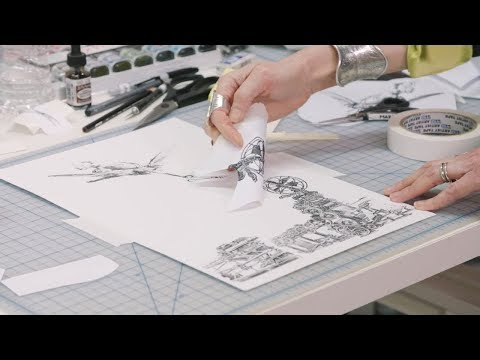 How to make Xerox transfer art | IN THE STUDIO