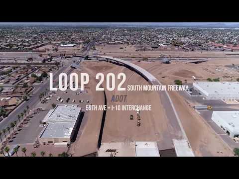 Loop 202 South Mountain Freeway   I-10 Segment   Soil Nail Shoring   Buesing Corp
