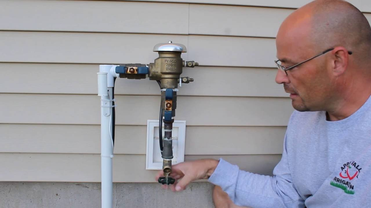 Draining A Backflow Prevention Device Febco 765