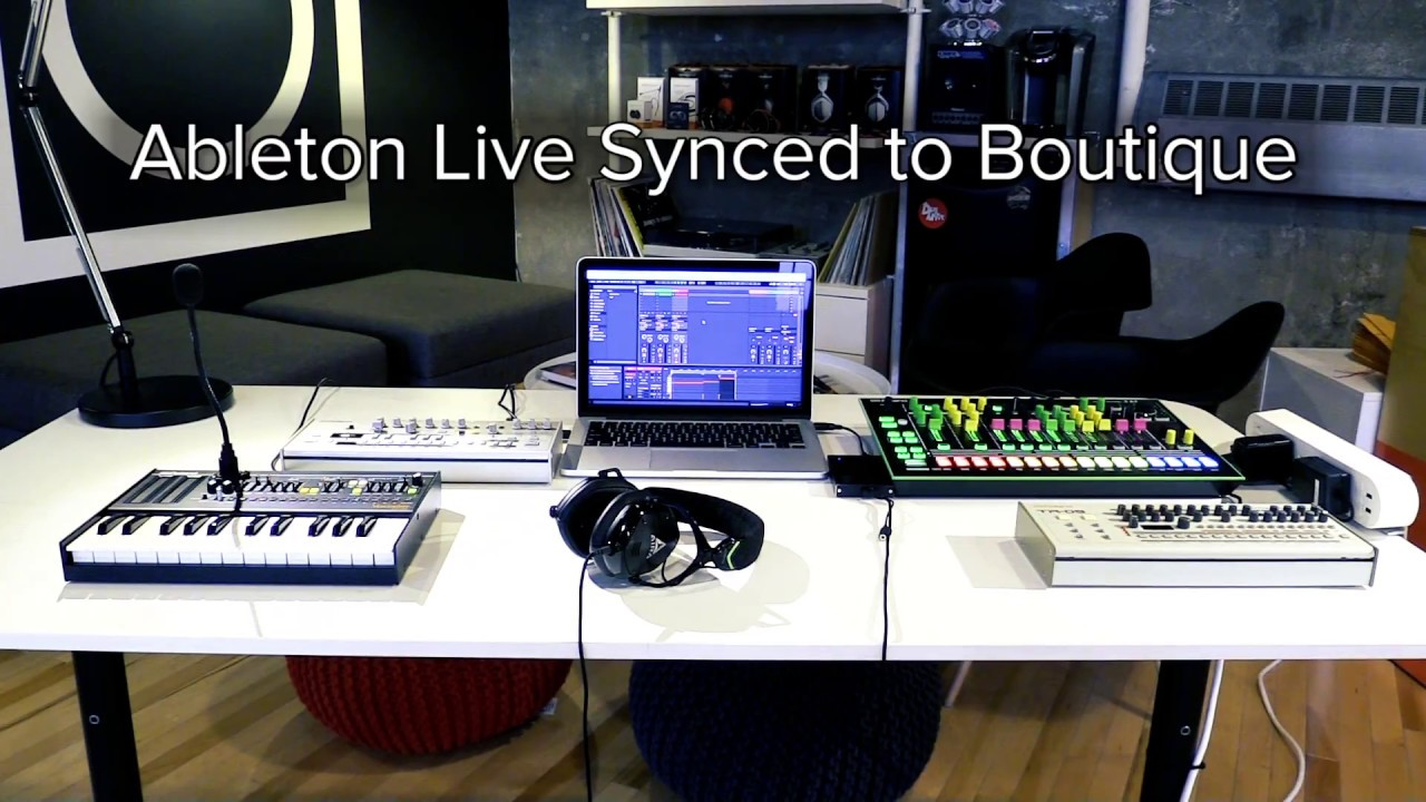 Using Your Roland Boutique with Ableton Live - PowerOn | Roland UK