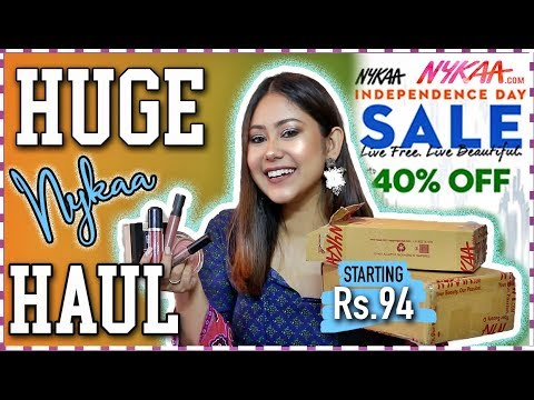 nykaa-sale-haul-|-starts-under-rs.100-|best-independence-day-sale-deals-|-thatquirkymiss