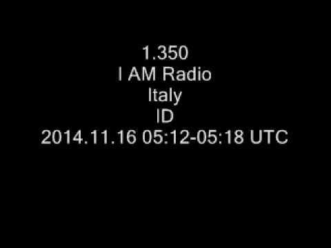 1.350 I AM Radio, Italy