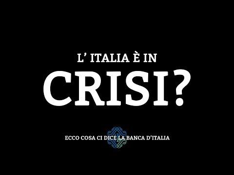 Quello che non vi dicono sull'economia italiana - Relazione della Banca d'Italia