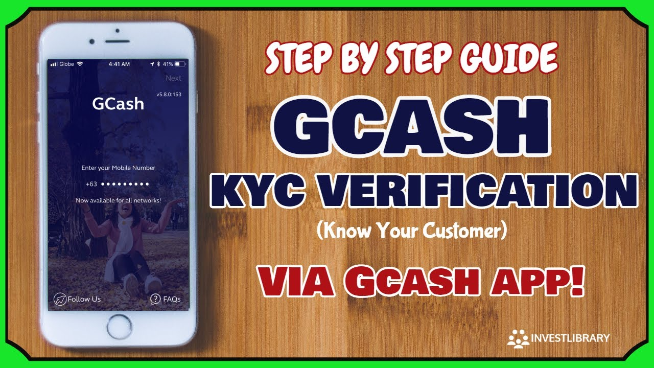 GCash App Full KYC Verification Online (Know Your Customer