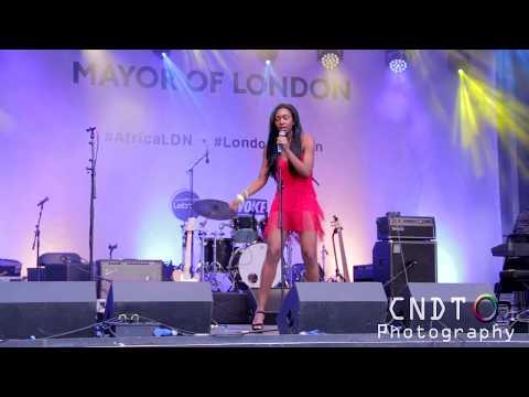 Africa on the Square 2017 - Talent Show #AfricaLDN  Olaide Steele & Josh Tenor - CashinoNDT