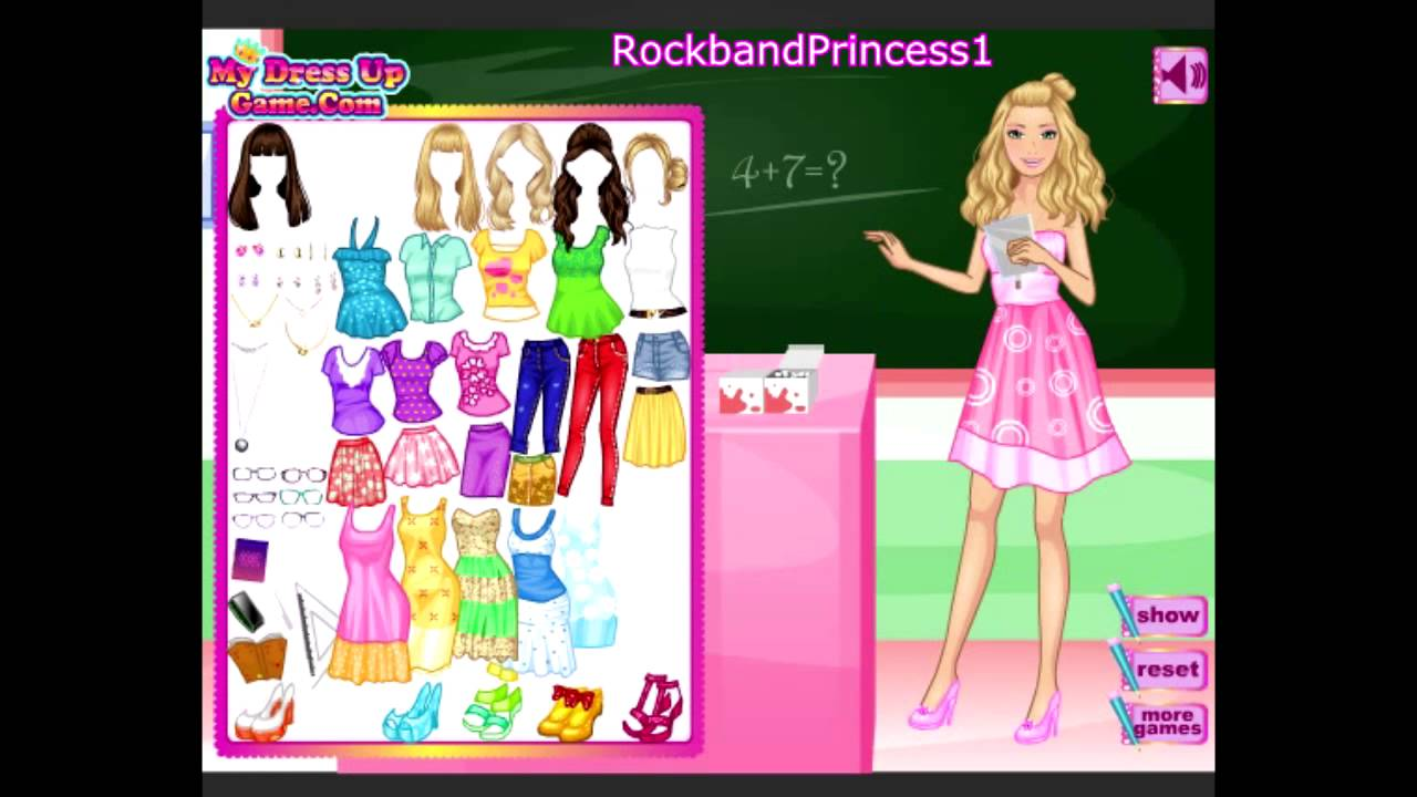 Barbie Online Games To Play Free Barbie Cartoon Game Youtube