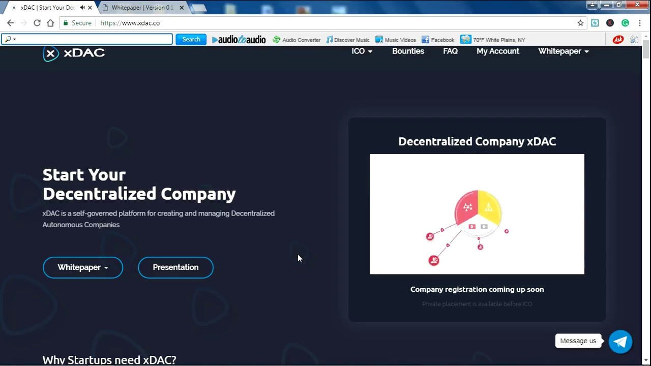 XDAC ICO REVIEW