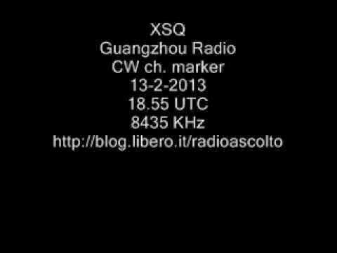 XSQ/Guangzhou Radio, CHINA,  8435 KHz