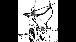 Баланс стрелы.Традиционный кованый наконечник.
