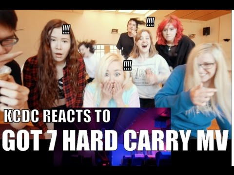 GOT7 HARD CARRY MV Reaction [Weekly KCDC]
