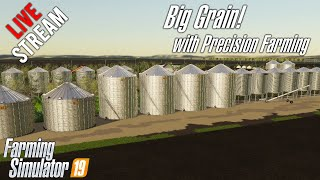 🔴Big Grain on County by Forty Mile with Precision Farming!