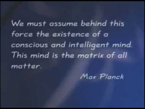 The Matrix of all matter  ~Max Planck~