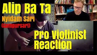 Alip Ba Ta, Nyidam Sari, Anjar Any, Pro Violinist Reaction