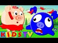Five Little Piggies | Jumping On The Bed | Nursery Rhymes For Children by Kids Tv