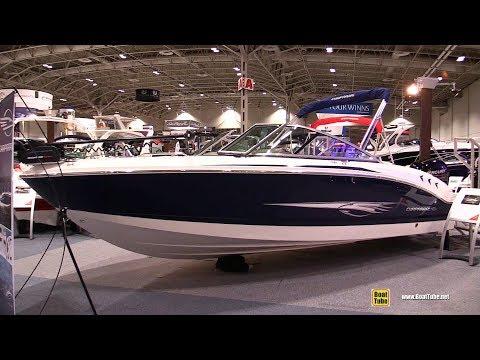 2018 Chaparral 21 H2O OB Ski And Fish Motor Boat - Walkaround - 2018 Toronto Boat Show