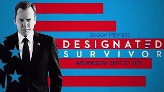 "Designated Survivor Season 2 ""Kiefer is Back"" Teaser Promo (HD)"