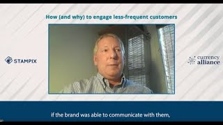 How to engage less-frequent customers | Loyalty Expert Talks with Stampix